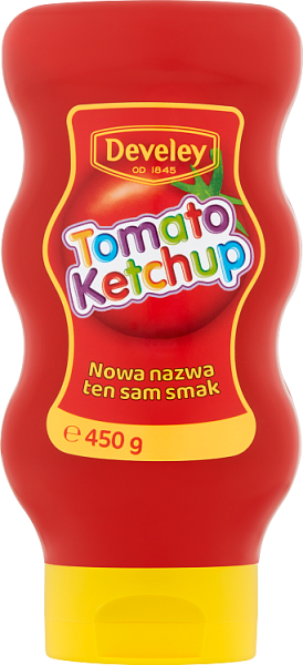 Develey KetchupTomato Disney 450g/9/